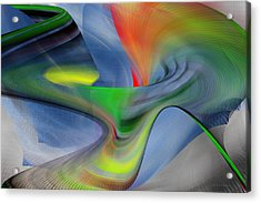 Acrylic Print featuring the digital art The New One by rd Erickson