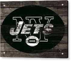 The New York Jets 3h Acrylic Print by Brian Reaves
