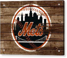 The New York Mets 3a Acrylic Print