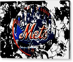 The New York Mets 6a Acrylic Print