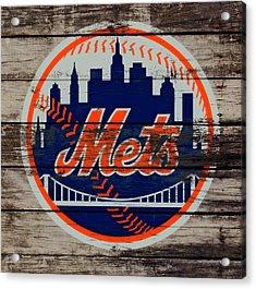 The New York Mets C5 Acrylic Print