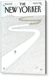 The New Yorker Cover - July 12th, 1999 Acrylic Print