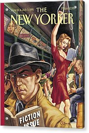 The New Yorker Cover - June 26th, 1995 Acrylic Print