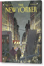 The New Yorker Cover - March 8th, 1993 Acrylic Print