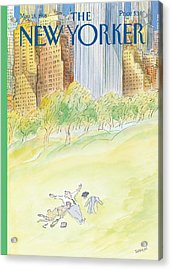 The New Yorker Cover - May 18th, 1998 Acrylic Print
