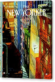 The New Yorker Cover - September 20th, 1993 Acrylic Print