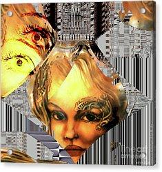 The Next Generation Detail Acrylic Print by Eva-Maria Di Bella