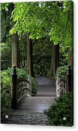 Acrylic Print featuring the photograph The Next Step by Brandy Little