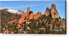 Acrylic Print featuring the photograph The High Point View by Adam Jewell