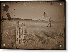The Night They Drove Old Dixie Down Acrylic Print by Bill Cannon