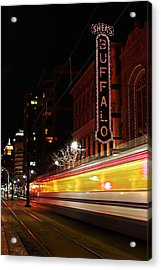 The Night Train Acrylic Print
