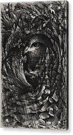 The Ninth Hour Acrylic Print by Rachel Christine Nowicki