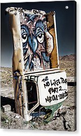 The No Likes Tour Part 2 Acrylic Print by James Marvin Phelps