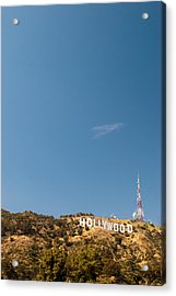 The Nora Ephron Shot - Beachwood Canyon Acrylic Print