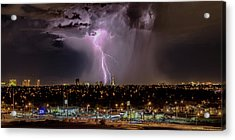 Acrylic Print featuring the photograph The North American Monsoon by Michael Rogers