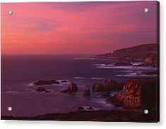 The North Coast - Highway One Acrylic Print by Soli Deo Gloria Wilderness And Wildlife Photography