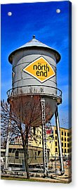 The North End Acrylic Print