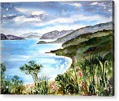 The North Shore Acrylic Print