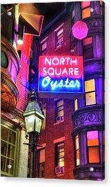 The North Square - Boston Acrylic Print