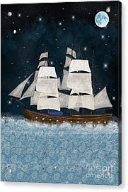 The North Star Acrylic Print