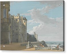 The North Terrace, Windsor Castle, Looking West Acrylic Print