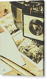 The Nostalgic Archive Acrylic Print