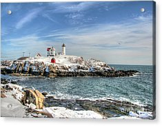 The Nubble Light Acrylic Print