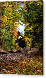 The Number 40 Rounding The Bend Acrylic Print by Jeff Folger
