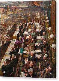 The Nuremberg Trial Acrylic Print by Mountain Dreams