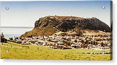 The Nut In Stanley Tasmania Acrylic Print