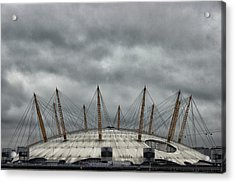 The O2 Arena Acrylic Print by Martin Newman