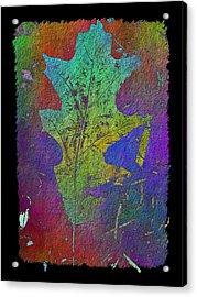 The Oak Leaf Acrylic Print