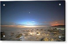 The Ocean Desert Acrylic Print