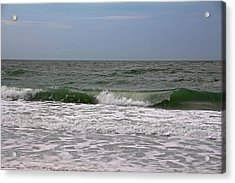 The Ocean In Motion Acrylic Print