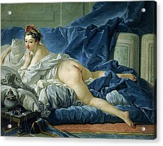 The Odalisque Acrylic Print by Francois Boucher