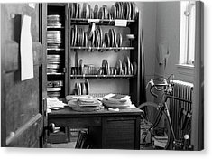 The Office Of A Teaching Assistant, 1979 Acrylic Print