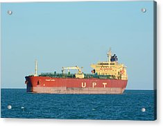Acrylic Print featuring the photograph The Oil Tanker Summit Africa by Bradford Martin