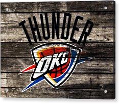 The Oklahoma City Thunder W10           Acrylic Print