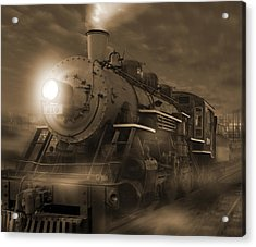 The Old 210 Acrylic Print by Mike McGlothlen