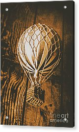 The Old Airship Acrylic Print by Jorgo Photography - Wall Art Gallery