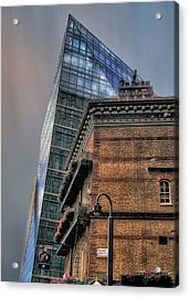 The Old And The New Acrylic Print by Jim Hill