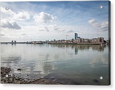The Old And The New Acrylic Print