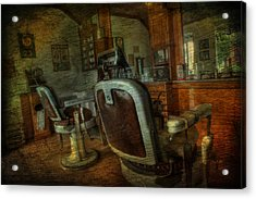 The Old Barbershop - Vintage - Nostalgia Acrylic Print
