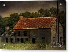 The Old Barn Acrylic Print by Jill Smith