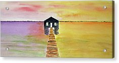 The Old Boat Shed Acrylic Print