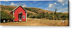 Acrylic Print featuring the photograph The Old Capetown School House by James Eddy