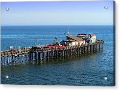 The Old Capitola Pier Acrylic Print