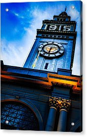 The Old Clock Tower Acrylic Print