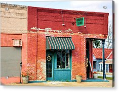 The Old Coffee Cafe Acrylic Print by Jan Amiss Photography
