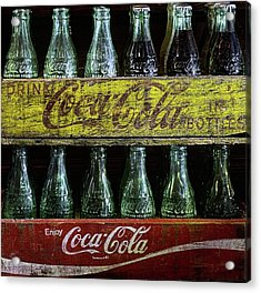The Old Coke Stack Acrylic Print